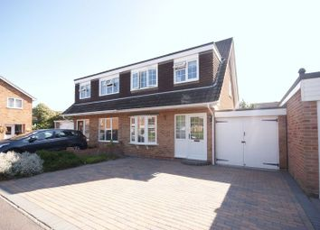 Thumbnail 3 bed semi-detached house for sale in Chilcomb Close, Lee-On-The-Solent