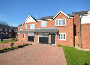Thumbnail 3 bed detached house for sale in Dunlin Close, Parkgate, Neston
