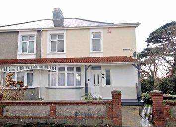 Thumbnail 3 bed semi-detached house for sale in Burnham Park Road, Peverell, Plymouth