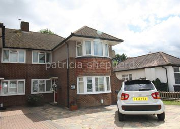 Thumbnail 3 bedroom maisonette to rent in Amis Avenue, West Ewell, Epsom