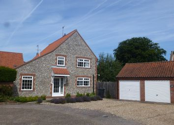 Thumbnail 3 bedroom detached house for sale in Church Farm Close, Weybourne, Holt