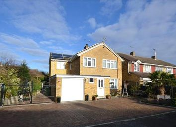 Thumbnail 4 bed detached house for sale in Bramling Avenue, Yateley, Hampshire