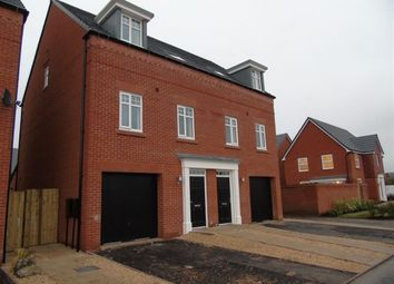 Thumbnail 3 bed town house to rent in Thalia Avenue, Stapeley, Nantwich