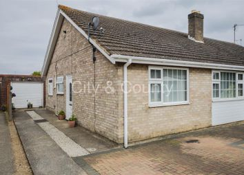 Thumbnail 2 bed semi-detached house for sale in Rosemary Gardens, Peterborough