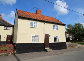 Thumbnail 3 bed cottage to rent in The Street, Hepworth, Diss