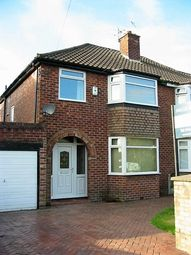 Thumbnail 3 bed semi-detached house to rent in Dellcot Lane, Worsley, Manchester