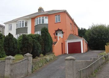 Thumbnail 5 bed semi-detached house for sale in Perinville Road, Torquay