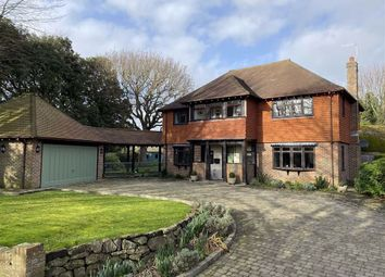 Thumbnail 4 bedroom detached house for sale in Firle Road, Seaford, East Sussex