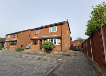 Thumbnail 2 bed semi-detached house for sale in Fairstead Close, North Walsham