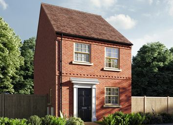 """Thumbnail 3 bed semi-detached house for sale in """"The Eveleigh"""" at Central Avenue, Brampton, Huntingdon"""
