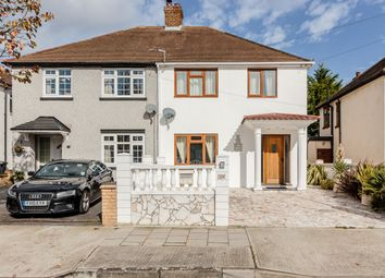 Thumbnail 3 bed semi-detached house for sale in Central Drive, Hornchurch, London