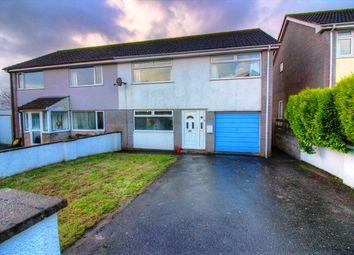 Thumbnail 3 bed semi-detached house for sale in Highwood Park, Dobwalls, Liskeard