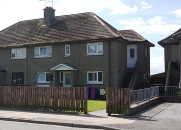 Thumbnail 2 bedroom flat to rent in St Gerardines Road, Lossiemouth, Moray