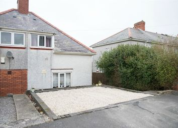 Thumbnail 2 bedroom semi-detached house for sale in Goronwy Road, Cockett, Swansea, West Glamorgan