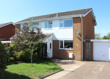 Thumbnail 3 bed semi-detached house for sale in Brixington Lane, Exmouth