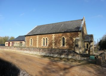 Thumbnail 1 bed detached house for sale in The Old Chapel And Chapel Cottage, Main Road, Narborough, Norfolk