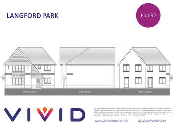 Thumbnail 3 bed terraced house for sale in Langford Park, Spencers Wood