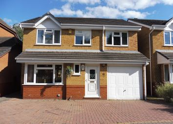 Thumbnail 4 bed detached house for sale in Linacres Drive, Chellaston, Derby