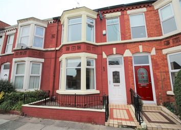Thumbnail 3 bed terraced house for sale in Annesley Road, Aigburth, Liverpool, Merseyside