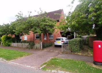 Thumbnail 3 bed semi-detached house for sale in Pattison Lane, Woolstone, Milton Keynes, Buckinghamshire