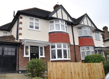 Thumbnail 3 bed terraced house to rent in Brantwood Road, London