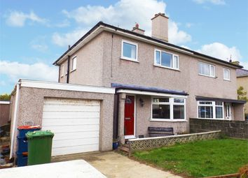 Thumbnail 3 bed semi-detached house for sale in Llanfawr Road, Holyhead, Anglesey