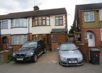Thumbnail 4 bedroom end terrace house for sale in Blundell Road, Luton