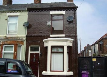 Thumbnail 2 bedroom end terrace house to rent in Redbrook Street, Liverpool