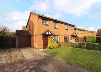Thumbnail 3 bed semi-detached house for sale in Courtney Close, Wollaton, Nottingham