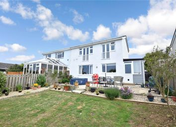 Thumbnail 2 bed semi-detached house for sale in Trelawney Avenue, Poughill, Bude