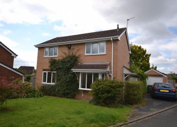 Thumbnail 3 bed detached house for sale in Brookvale Close, Burtonwood, Warrington