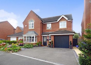 Thumbnail 4 bedroom detached house for sale in Salisbury Close, Crewe