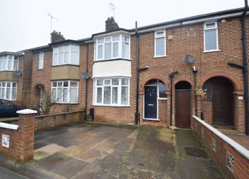 Thumbnail 3 bed terraced house for sale in Wingate Road, Luton