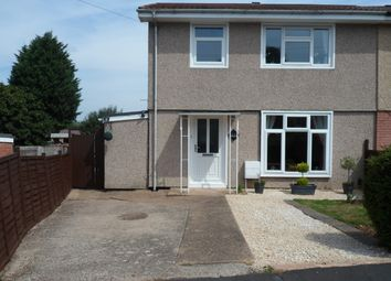 Thumbnail 3 bed semi-detached house for sale in Saunton Road, Rugby, Warwickshire