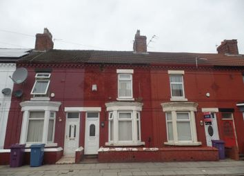 Thumbnail 4 bed terraced house for sale in August Road, Liverpool
