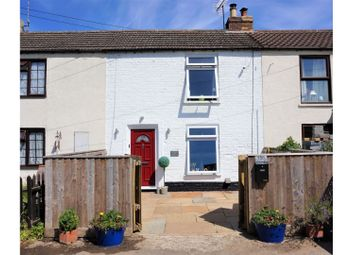 Thumbnail 2 bed terraced house for sale in Church Road, Tilney St Lawrence, King's Lynn