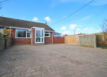 Thumbnail 2 bed semi-detached bungalow for sale in Southrepps Road, Antingham, North Walsham