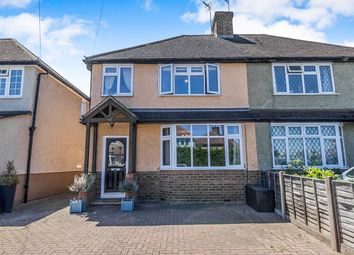 Thumbnail 4 bed semi-detached house for sale in Shakespeare Road, Addlestone