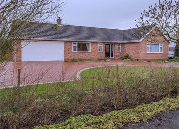 Thumbnail 3 bed detached bungalow for sale in Shore Road, Garthorpe, Scunthorpe, Lincolnshire