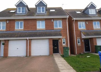 Thumbnail 4 bed town house for sale in Ovingham Way, Seaton Delaval, Whitley Bay