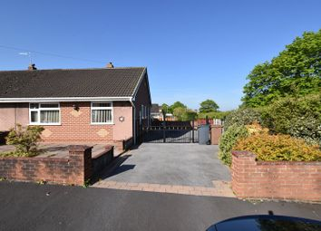Thumbnail 2 bed semi-detached bungalow for sale in Elmhurst Close, Stoke-On-Trent
