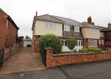 Thumbnail 3 bed semi-detached house for sale in Gainas Avenue, Gainsborough, Lincs