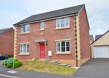Thumbnail 4 bed detached house for sale in Meadowland Close, Caerphilly