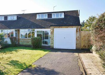 Thumbnail 3 bed semi-detached bungalow for sale in Highfield Close, Pembury, Tunbridge Wells