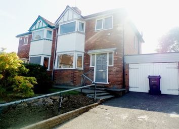 Thumbnail 3 bed property to rent in Woodvale Road, Hall Green