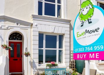 Thumbnail 5 bed terraced house for sale in Gloster Terrace, The Esplanade, Sandgate, Folkestone