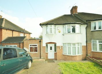 Thumbnail 4 bed semi-detached house for sale in Basing Hill, Wembley, Middlesex