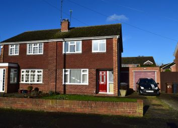 Thumbnail 3 bed semi-detached house for sale in Falcutt Way, Kingsthorpe, Northampton