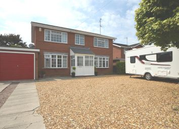 Thumbnail 4 bedroom detached house for sale in Ardleigh Close, Wisbech