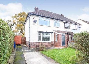 Thumbnail 3 bed semi-detached house for sale in Brandon Avenue, Heald Green, Cheadle, Cheshire
